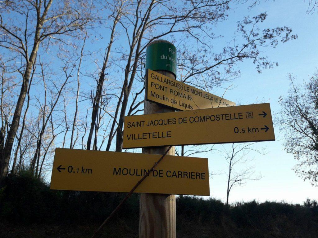 A Villetelle sur la voie de Saint Jacques à équidistance de Vauvert et Vendargues